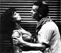 Julie Walters and Ian Charleson in Fool for Love